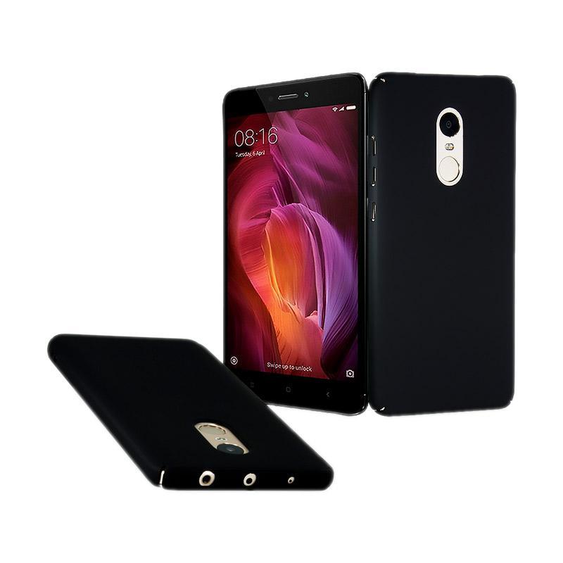 Fashion Baby Skin Ultra Thin Hardcase Casing for Xiaomi Redmi Note 4 - Black