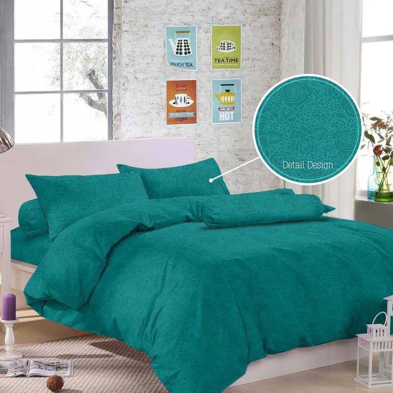 Royals T 30 Jacquard Emboss Set Sprei - Tosca