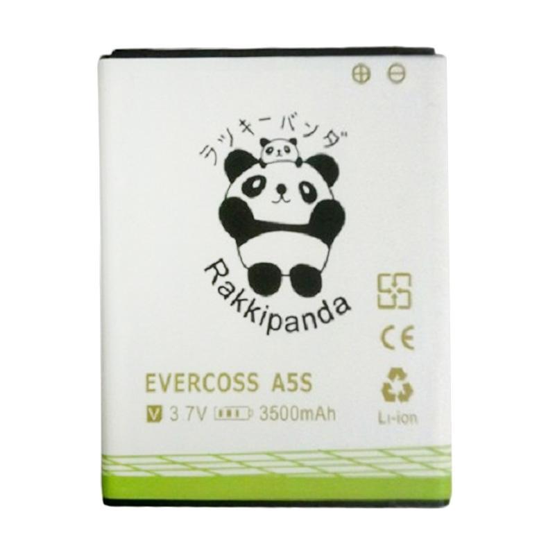 RAKKIPANDA Double Power Double IC Battery for Evercoss A5S