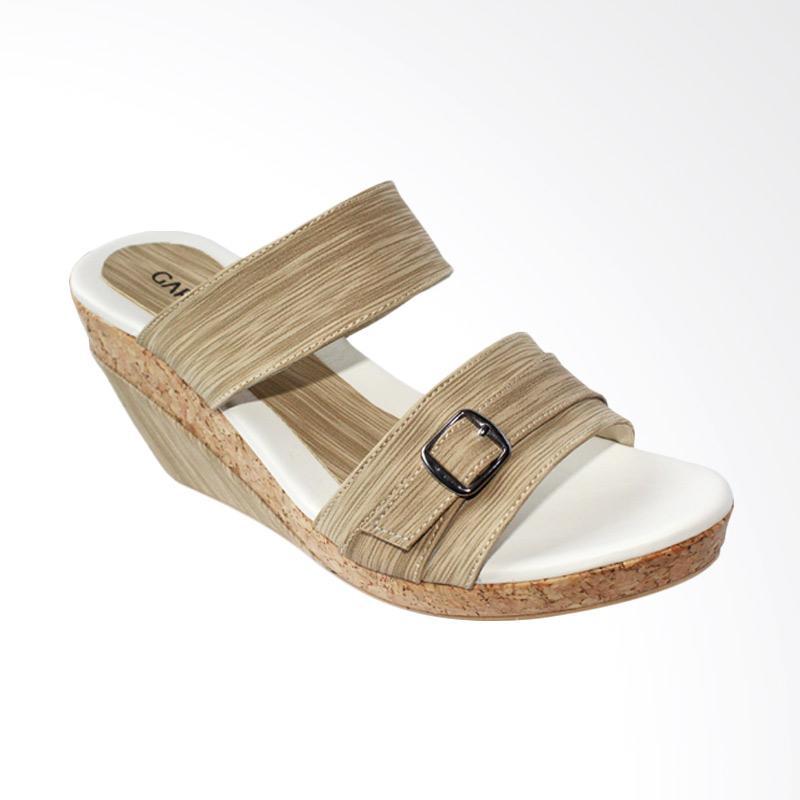 Garucci GMA 5124  Sandal Wedges - Cream