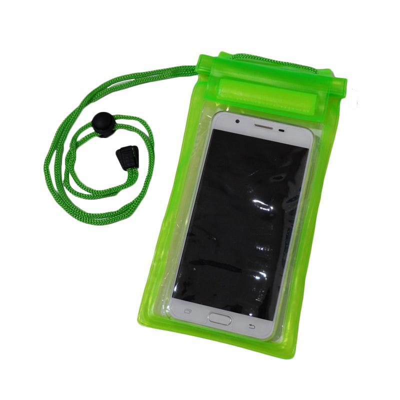 Waterproof Case Tas Pelindung Anti Air [Smartphone] - Hijau