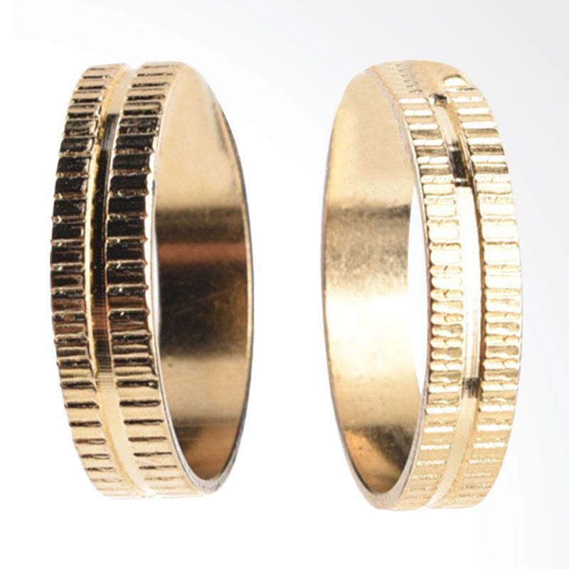 1901 Jewelry Gold Hoop Earring GW.4435. HR51 - Gold