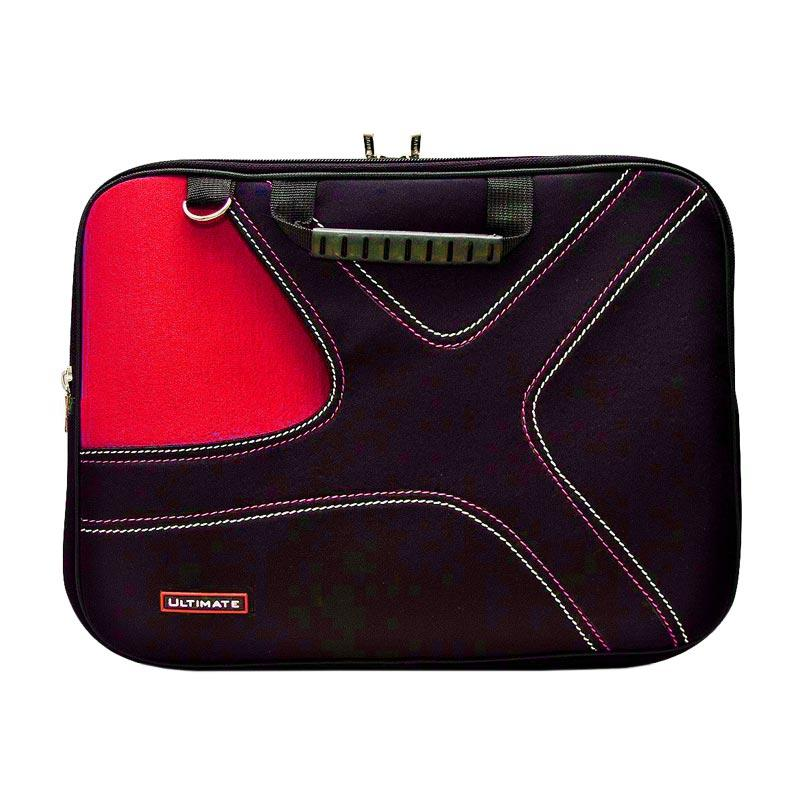 Ultimate Double X 14 Inch Tas Laptop - Merah