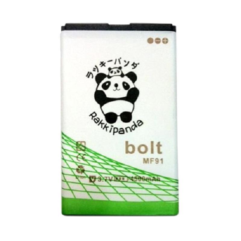RAKKIPANDA MF91 Double Power and IC Battery for Modem Bolt Tebal