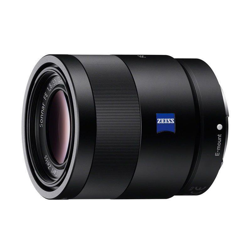 Sony LENS FE 55mm f/1.8 ZA SONNAR T*  Lensa Kamera