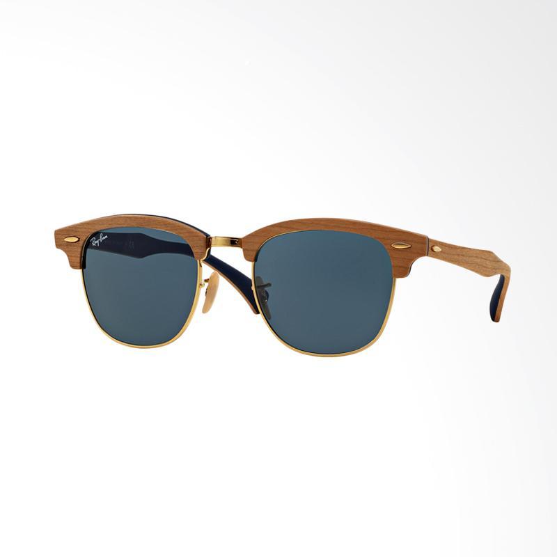 harga Rayban Clubmaster Cherry Rubber Blue Kacamata - Grey [Size 51] Rb3016M Blibli.com