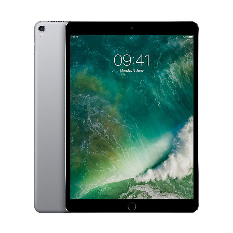 TERLARIS iPad Pro 10.5 2017 64 GB Tablet - Space Gray [Wi-Fi + Cellular 4G-LTE] Garansi Resmi
