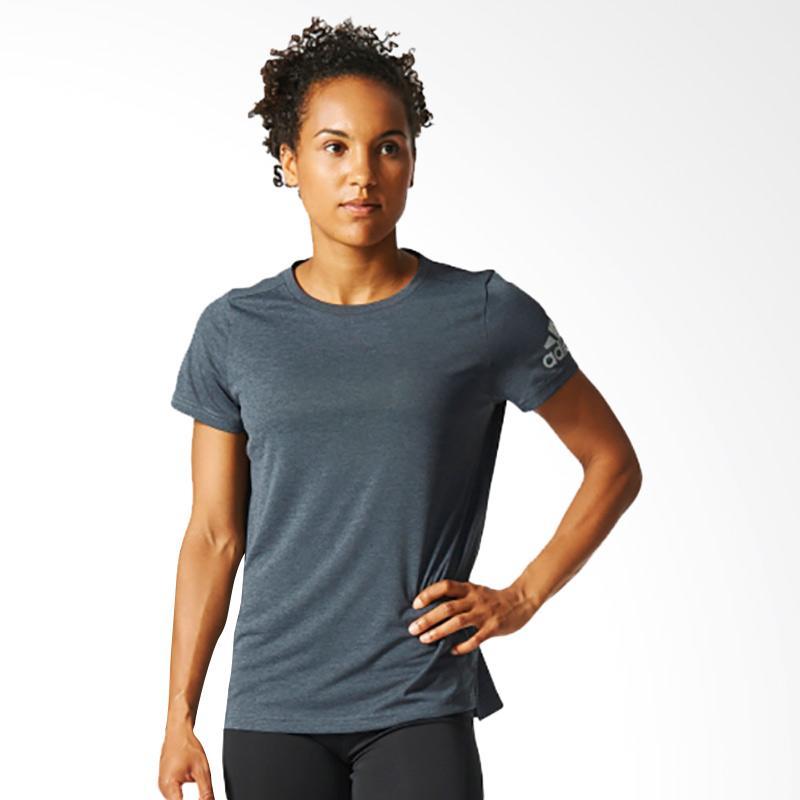 adidas Climachill Women's Tee Kaos Olahraga Wanita - Heavy Stone AY7277