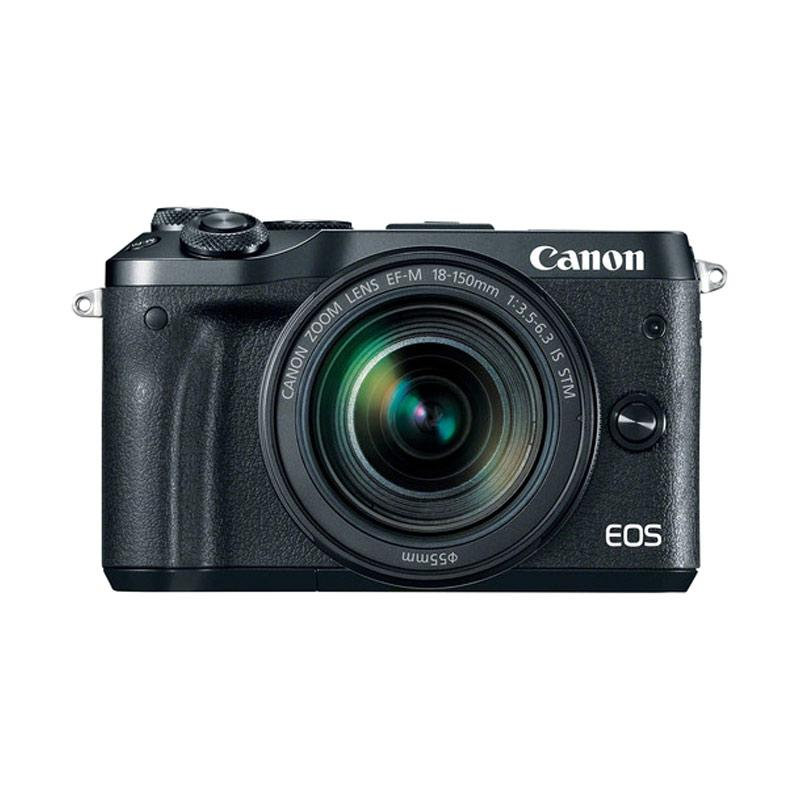 Canon EOS M6 Kit 18-150mm Kamera Mirrorless - Black