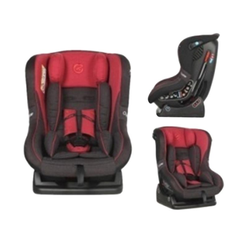 Oyster OY-363-RT Aries Carseat - Red Tungsten Grey [0-4 tahun]