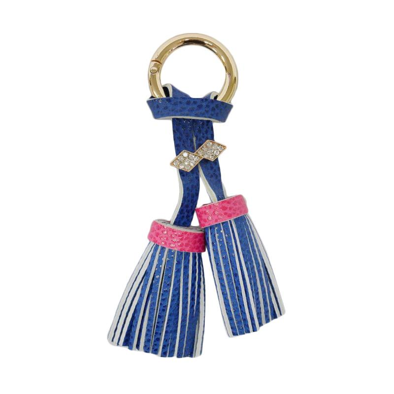 SIV Rumbai plus Manik Keychain Gantungan Kunci - Dark Blue [KD01]