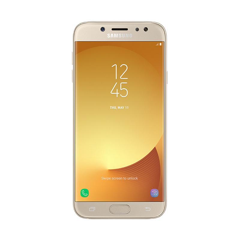 Samsung Galaxy J7 Pro Smartphone - Gold [32 GB/ 3 GB/ D]
