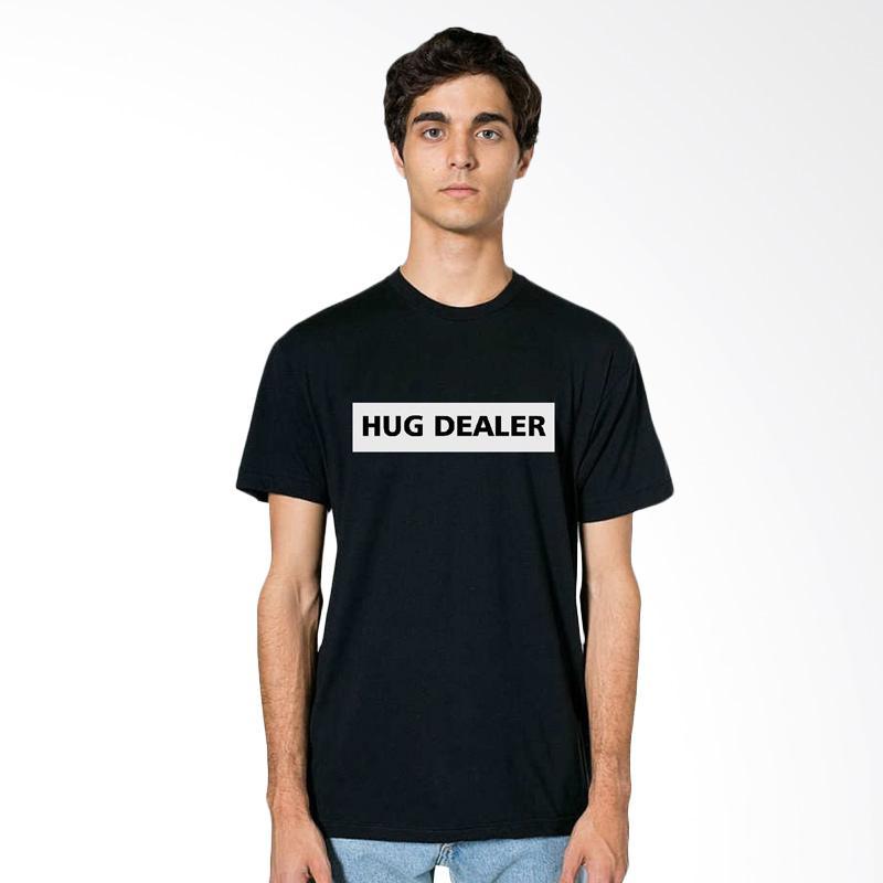 Fraw T-shirt Atasan Pria - Black 34-17