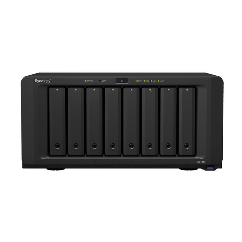Synology DS1817+ 8GB DiskStation 8-Bay NAS Server External Storage