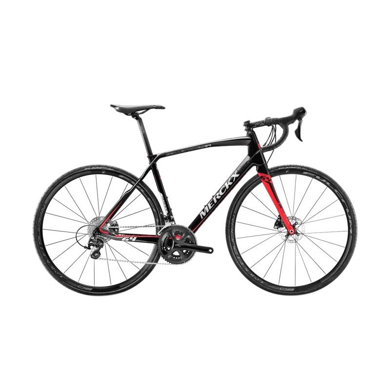 Jual Eddy Mercky Sallanches 64 Disc Shimano 105 Sepeda Roadbike Black Anthracite Red Gloss Size M Online September 2020 Blibli Com