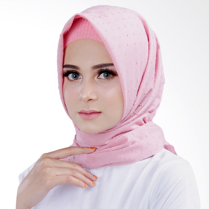Jual Cantik Kerudung Bella Square Shawl Dusty Pink Online November 2020 Blibli