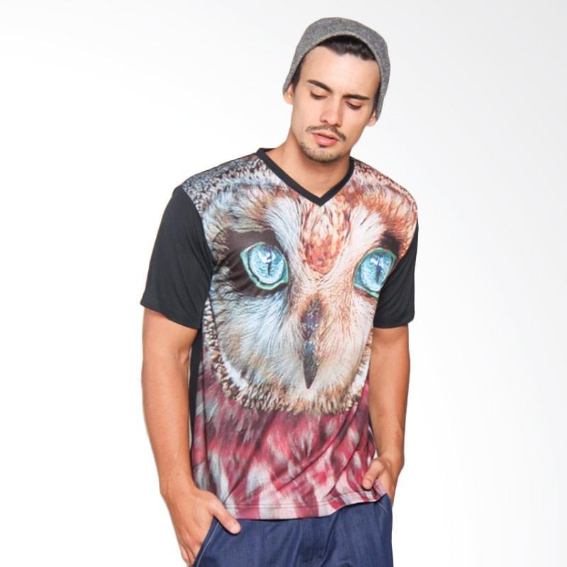 EpicMomo Bird1 T-Shirt Pria - Black AD.00122