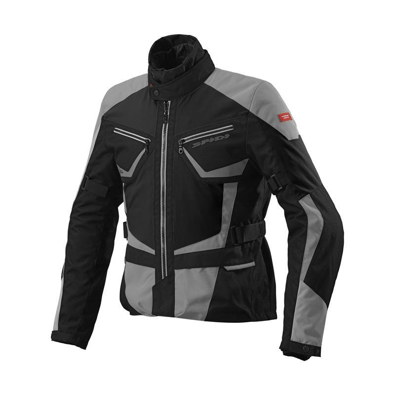 Spidi Multiwinter Jaket Motor - Black Grey