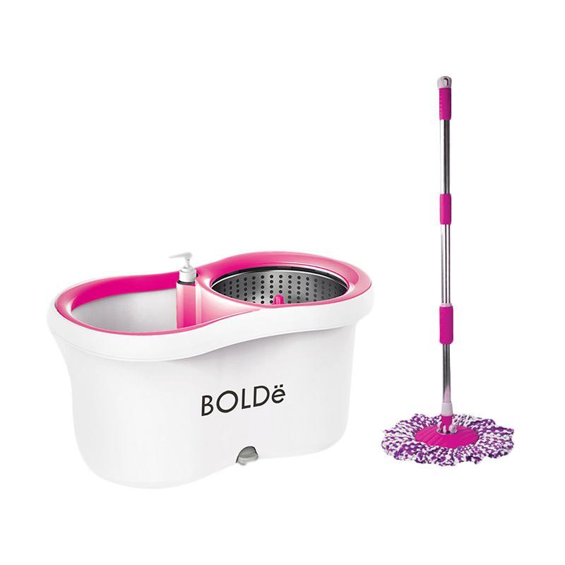 Bolde M-169X Special Edition Super MOP Alat Kebersihan - Putih Pink