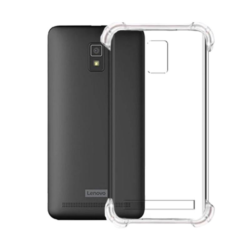 Winner List Anti Crack Anti Shock Silicon Softcase Casing for Lenovo A6600 - Transparent