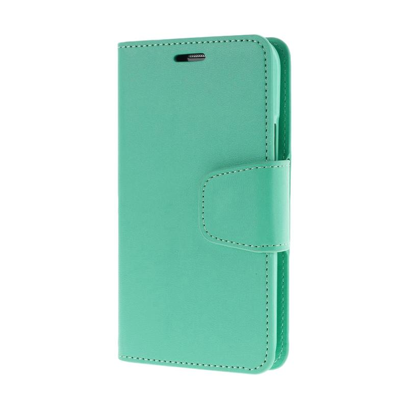 Mercury Standing Flip Cover Casing for Samsung Galaxy Grand 2 - Green