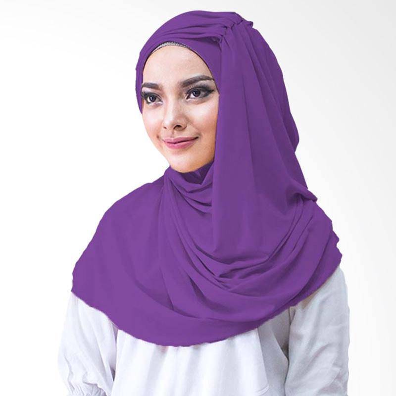Milyarda Hijab Alesyana Jilbab Instan - Ungu