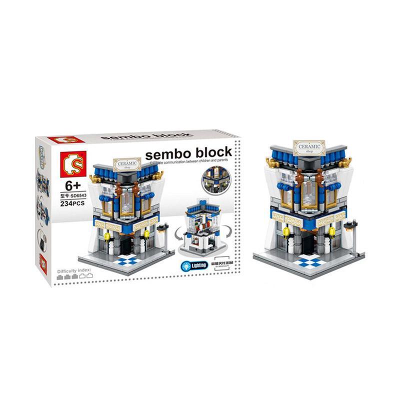 Sembo SD6543 Ceramic Shop Mini Blocks