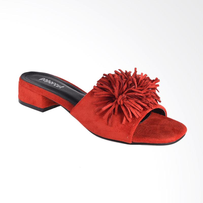 Papercut Shoes GZ 02 115 10 Long Xin Flower Suede Slide Shoes Heels