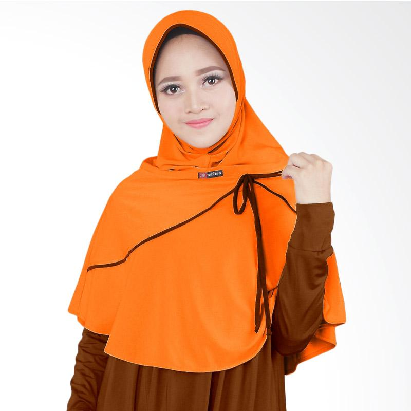 Nafisa Production Alana Jilbab Cantik - Orange