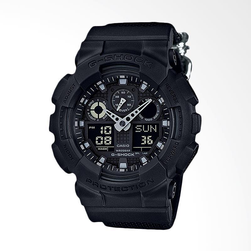 CASIO G-Shock Jam Tangan Pria GA-100BBN-1AJF