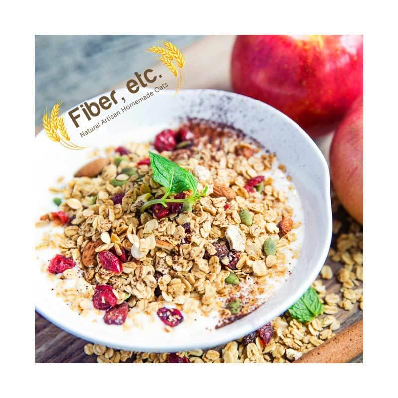 Jual Fiber Etc Apple Cinnamon Granola 500 G Online Harga