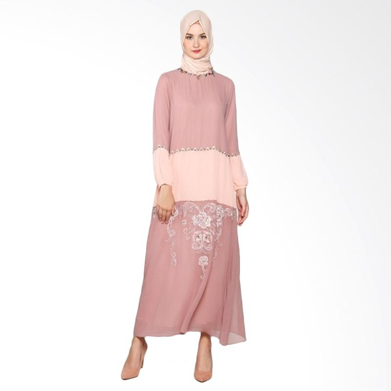 Yanna Azwar Nazwa Dress - Brown