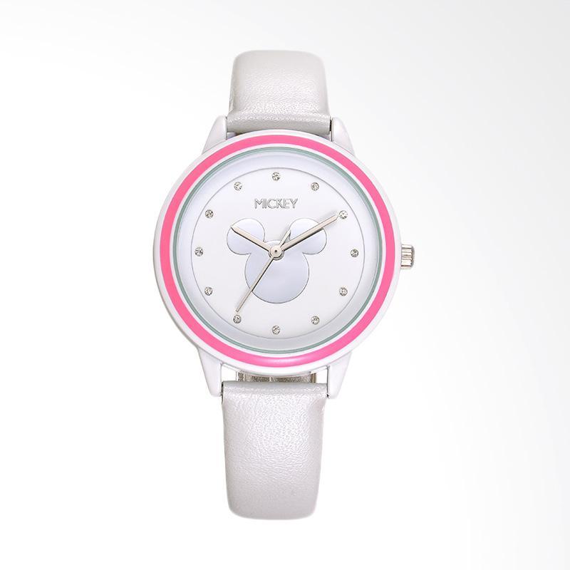 Disney MS11083-W Mickey Jam Tangan Wanita - Putih