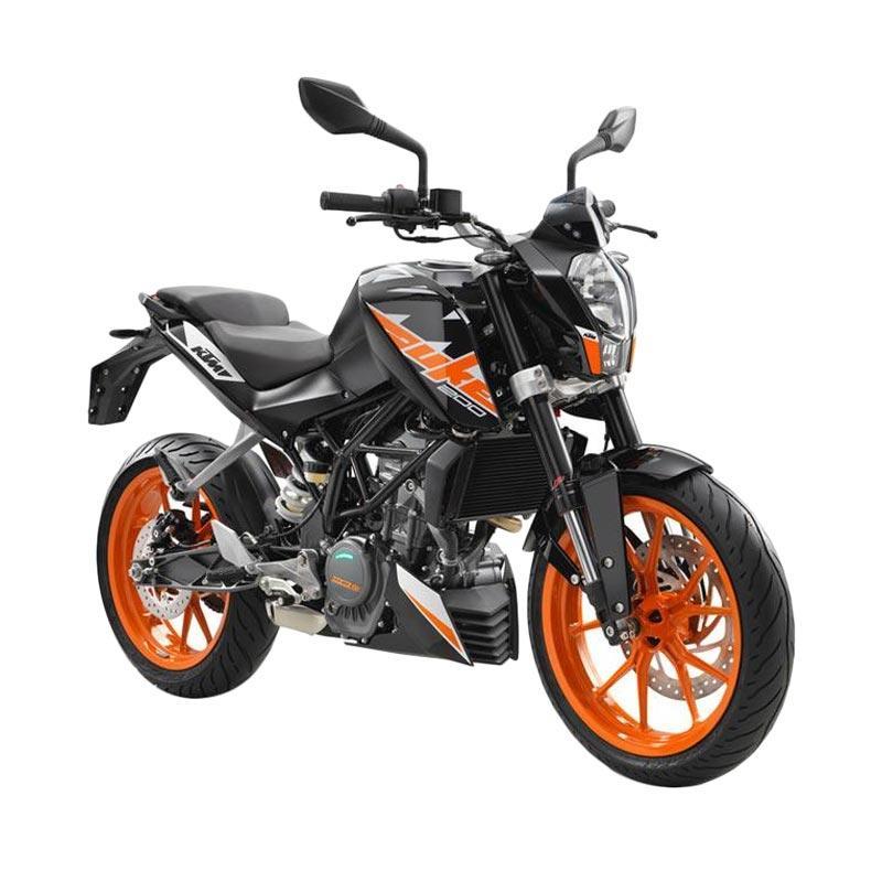 harga KTM Duke 200 Sepeda Motor - Black Blibli.com