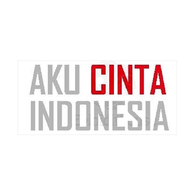 OEM Aku Cinta Indonesia Stiker
