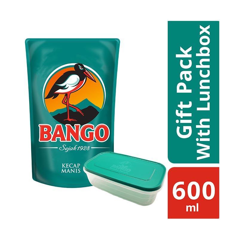 Bango Kecap Manis Pouch [600 mL] + Free Lunch Box
