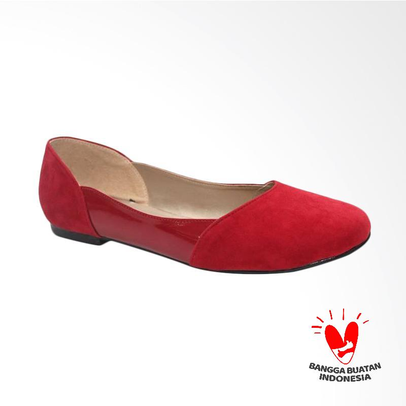 Grutty GR 82077 Sepatu Flat Wanita - Merah