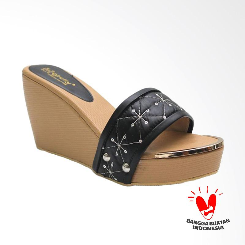 Grutty GR 82111 Sandal Wedges Wanita - Brown