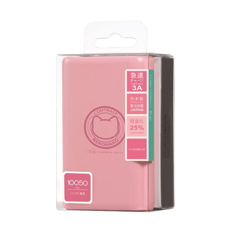 Probox Neko Monogatori Powerbank - Pink [10050 mAh/ Output 2.1A]