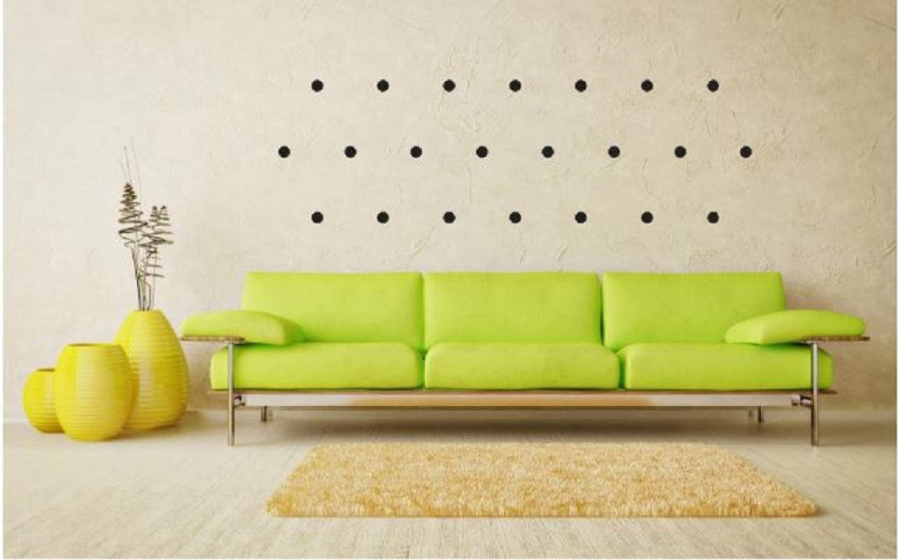 20 pc Wall Sticker Bulat Dot Polkadot Circle Bulat Cutting Stiker Dinding