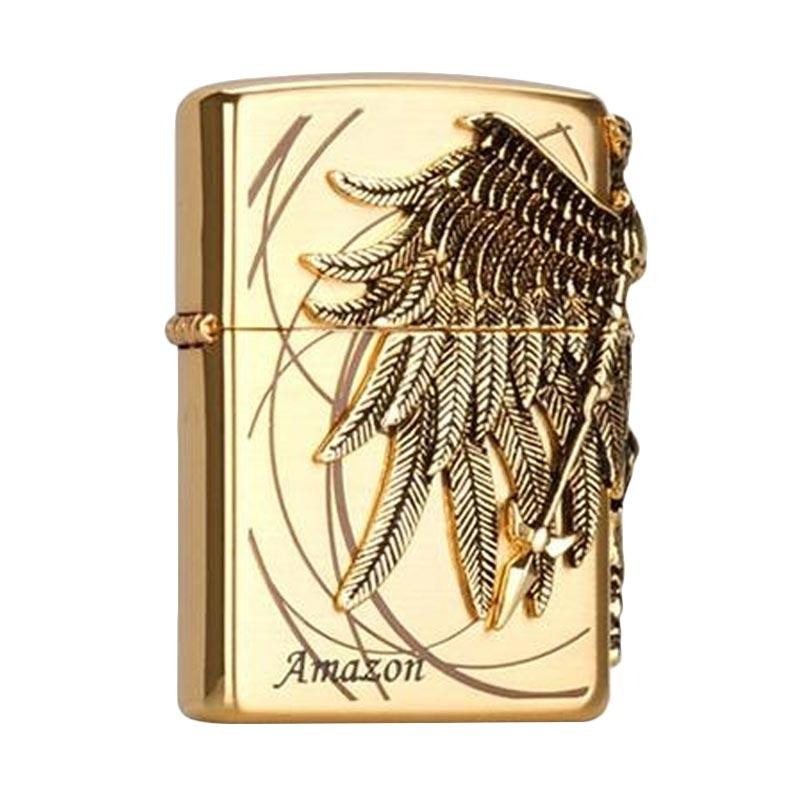 Zippo Amazon Genuine and Original Packing Lighter - Gold