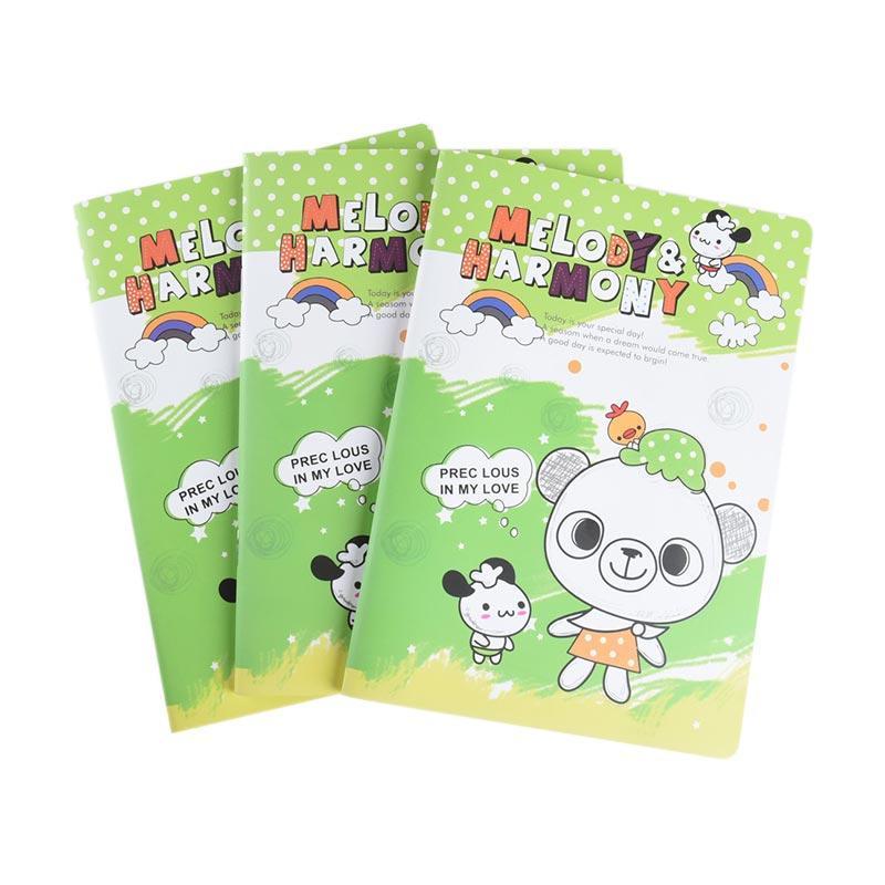 Karisma Set Buku Tulis Jepang A5 Melody & Harmony [70 gr/ 3 Pcs] - 748295