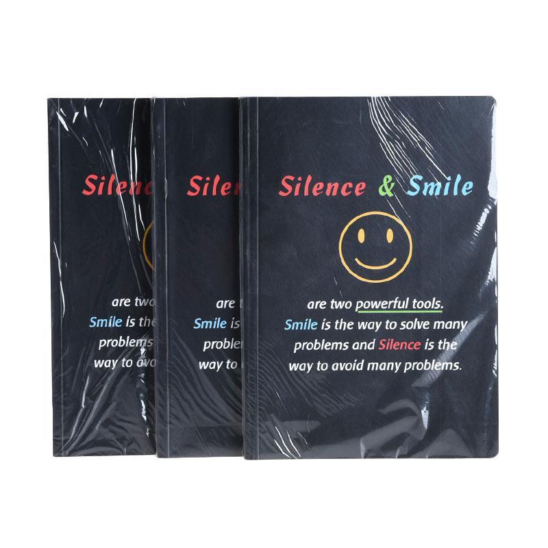 Karisma Exclusive Set Buku Tulis Silence & Smile Buku Tulis Exclusive [A5/80 g/3 pcs] - 748429