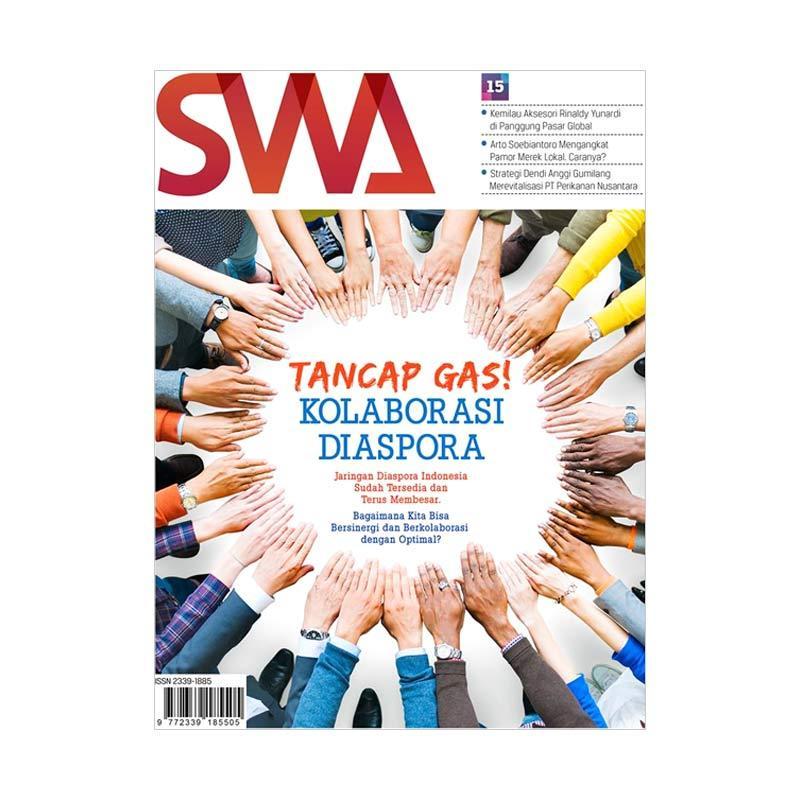 SWA Tancap Gas Kolaborasi Diaspora Edisi 15/2017 Majalah