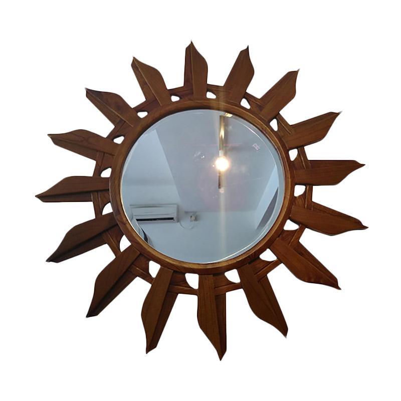 Hermosa Home Decor Sun Cermin Dinding Hias