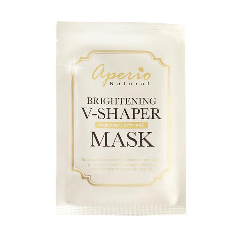 Aperio Natural Brightening V-SHAPER Mask [30 mL / 10 pcs per box]