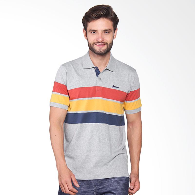 Hammer Men Polo Stripe Pakaian Pria - M71 / Multi Stripe I1PS413A1