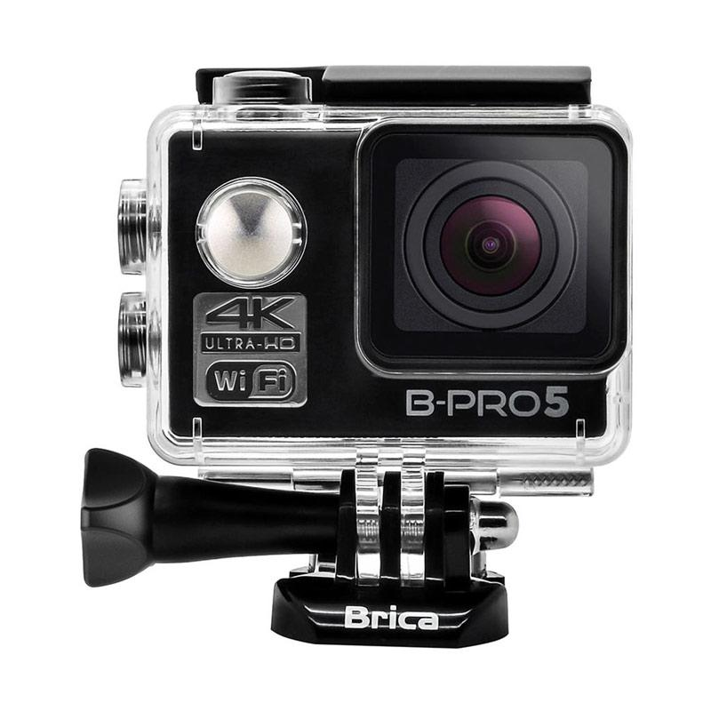 Brica B-PRO 5 Alpha Edition Mark II AE2 Action Camera with 3 Way Monopod - Hitam