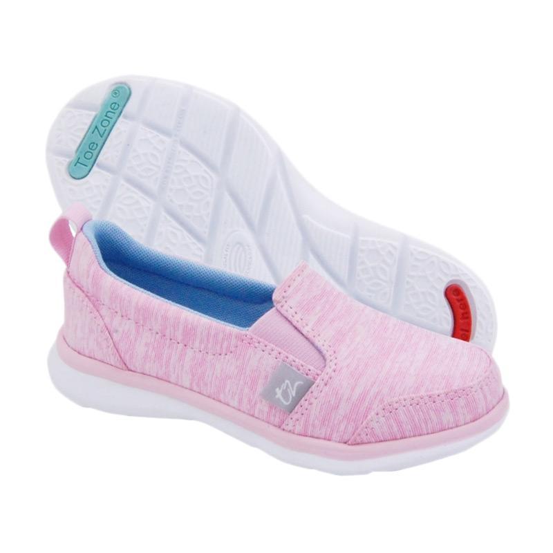 Toezone Kids Napa Girl Ch Heather Sepatu Anak Perempuan - Pink