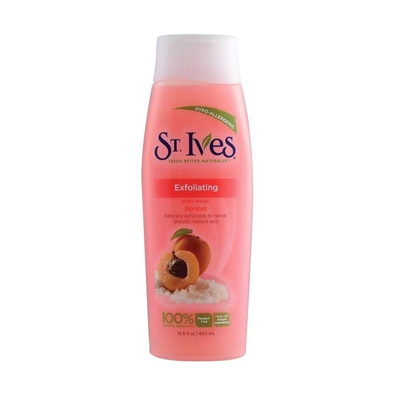 St. Ives Moisturizing Apricot Body Wash [13.5 Ounces]